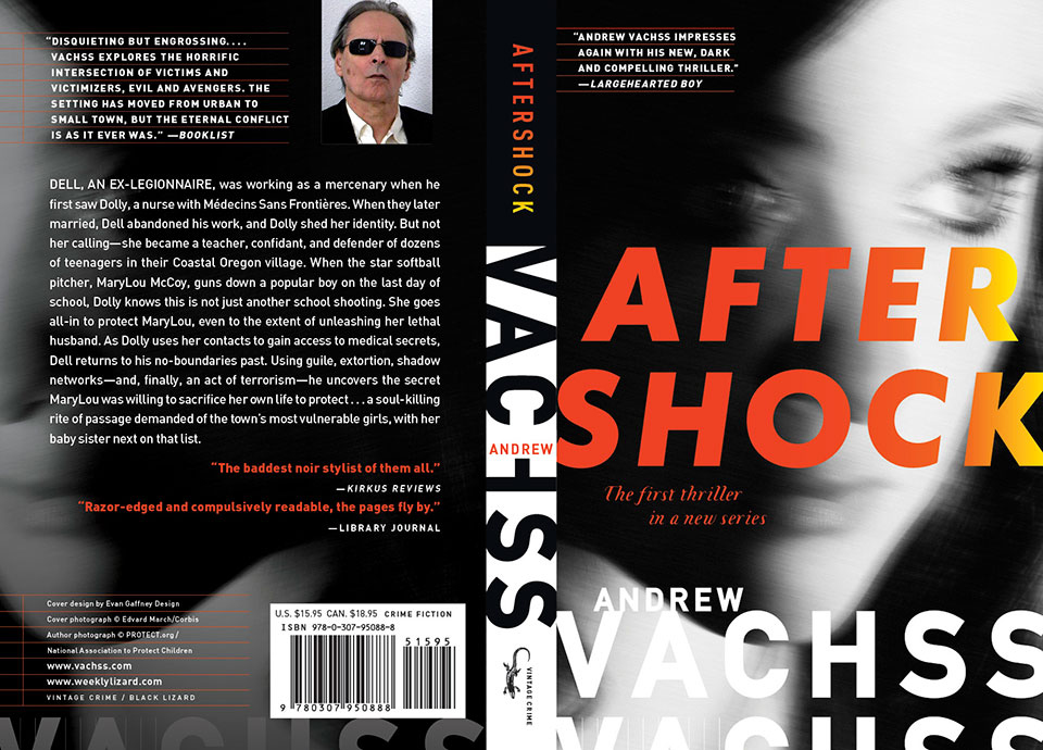 Aftershock: A Thriller by Andrew Vachss