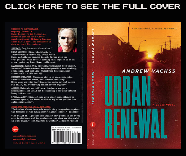 Urban Renewal: A Cross novel by Andrew Vachss